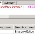 Microsoft SQL Server Versiyonunu Öğrenme SQL Management Studio ile SQL e bağlanıp herhangi bir veritabanı üzerinde sağ klik New Query diyerek aşağıdaki komutu yapıştırıp execute ettiğimizde resimdeki gibi bir sonuç […]