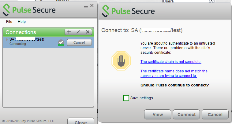 Pulse Secure - SaasPass SAML Integration 15