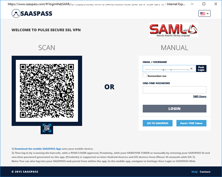 Pulse Secure - SaasPass SAML Integration 16
