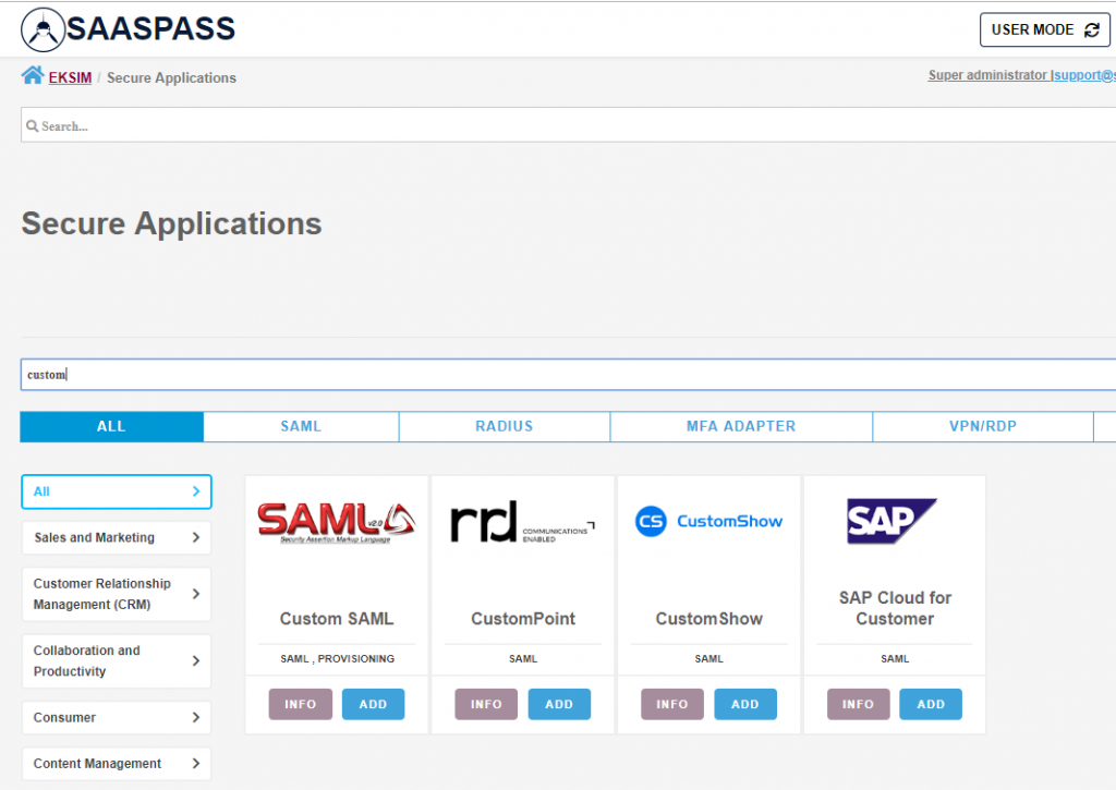 Pulse Secure - SaasPass SAML Integration 21