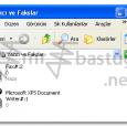 Microsoft Office Document Image Writer Yazıcı Sürücüsü bir belgeyi Resim formatında yazdırmak üzere kaydetmenize yarar. Eğer Yazıcı ve Faxlar Bölümünde Microsoft Office Document Image Writer görünmüyorsa: