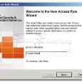 Isa Server 2004 de şirket yöneticileri tarafından personelin girmesi istenmeyen Facebook vb.. siteleri yasaklayacağız. Isa server Management ta Firewall Policy Menüsünde Tasks tabının altında bulunan Crate New Access Rule butonuna […]
