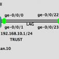 Bu topoloji ile, SRX210 Firewall ile EX4200 Switch'i LACP ile gruplandıracağız. SRX210'un ge-0/0/0 ve ge-0/0/1 portları, EX4200'nin ise ge-0/0/22 ve ge-0/0/23 portları ae0 (aggregated Ethernet) portları olarak tanımlanacaktır. SRX Firewall'un […]